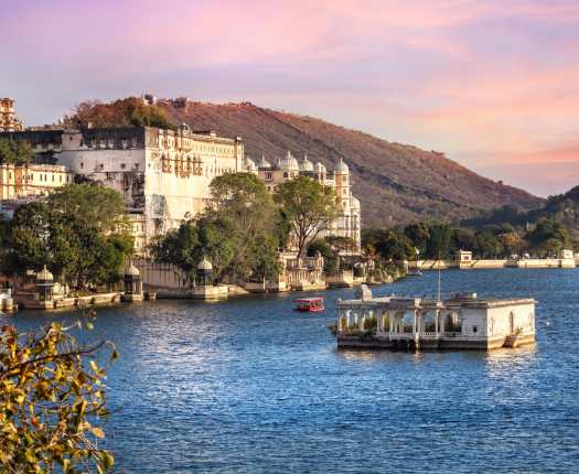 Lake Pichola, Rajasthan, Udaipur, India