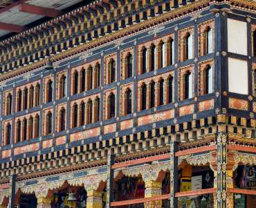 Tour of Thimphu: The architecture of Tashichho Dzong, Thimphu, Bhutan - the most respectful Dzong in Thimphu