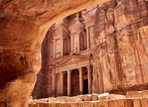 Luxury Jordan Holidays - Treasury in Petra, Jordan