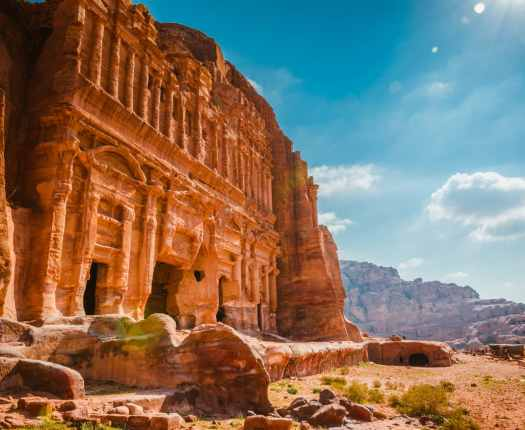 Monastery at Petra, Luxury Holidays to Jordan with Millis Potter