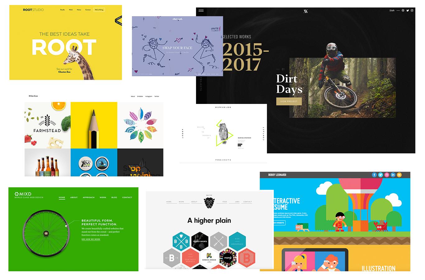 20 Graphic Design Portfolios You Ve Gotta See For Major