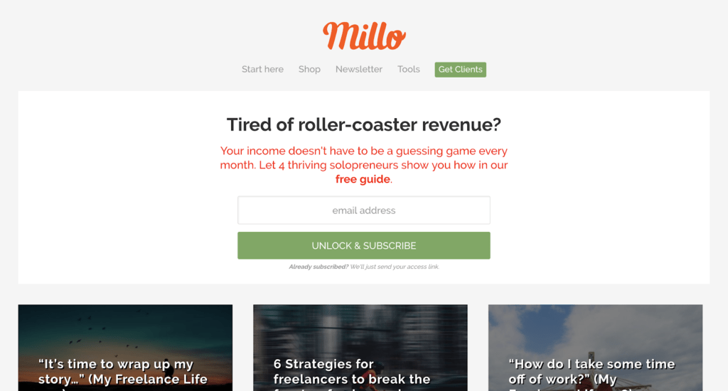 Graphic design blogs - millo
