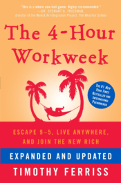 best business books - the 4 hour workweek