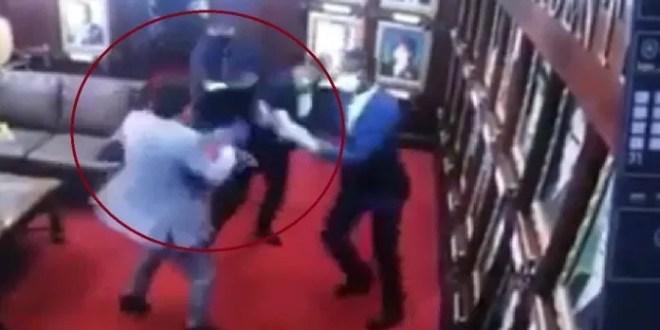 La Vega: Diputados se entran a golpes