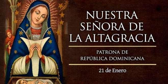 Catolicos Celebran.. Dia de Nuestra Señora de La Altagracia