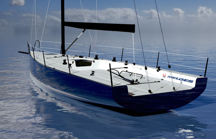 Melges And Westerly Complete NYYC IC37 Team Mills Design