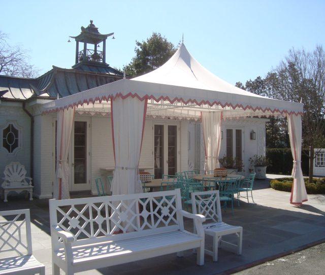 Mills Poolhouse Canopy Long Island