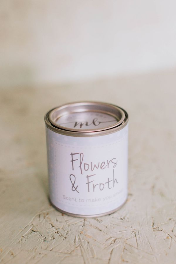Flowers & Froth Candle