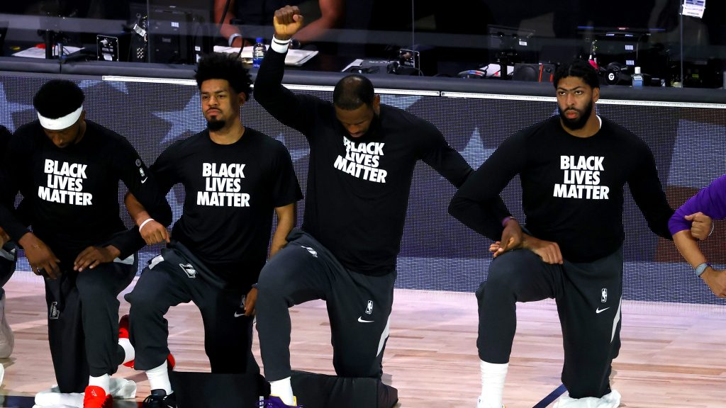 The Influence of Black Lives Matter on The NBA