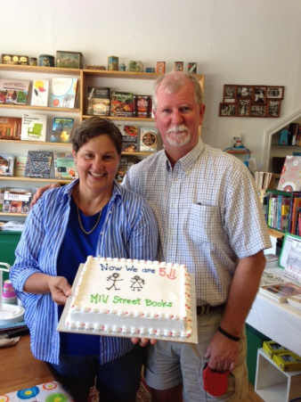 Celebrating 5 years at Mill Street Books
