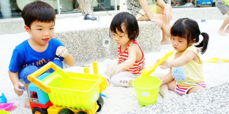【遊】小孩盡情玩沙子交朋友的好地方.梨子咖啡館(中科店)