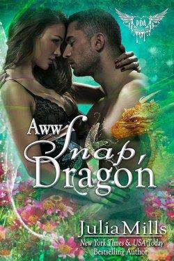 Aww Snap, Dragon by Julia Mills by Julia Mills