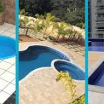 Qual piscina construir: concreto armado, fibra de vidro ou vinil?