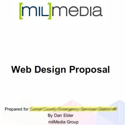 milMedia Web Design proposal format