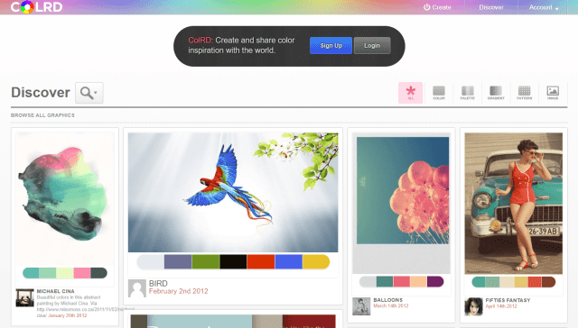 Colrd- Color Scheme Website