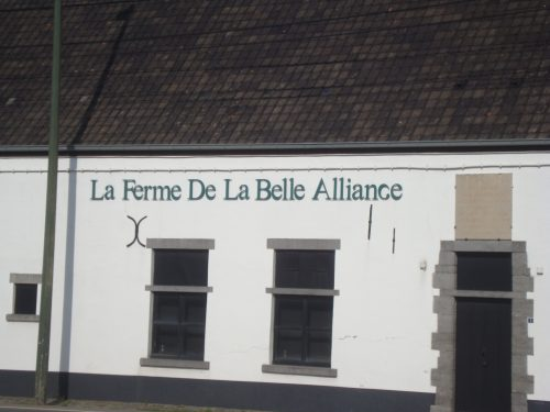 Hougoumont visit - La Belle Alliance