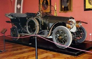The Gräf & Stift automobile ridden in by the A...