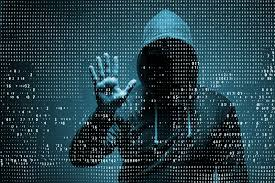 Hooded Hacker - Cyberwarfare