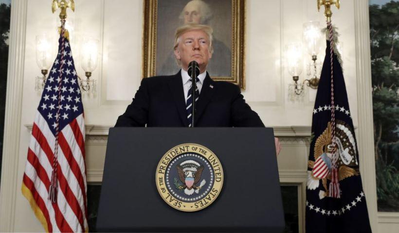 BREAKING Trump announces final decision on Iran deal