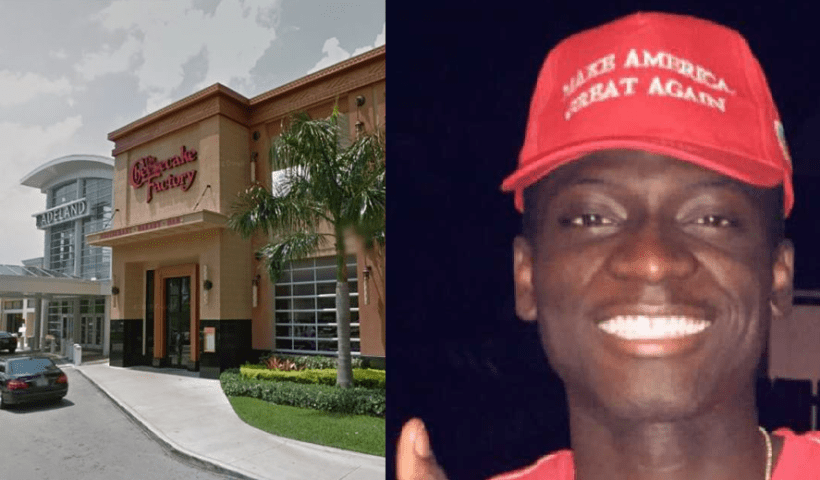 Black Man Attacked At Cheesecake Factory By Employees For Wearing MAGA Hat