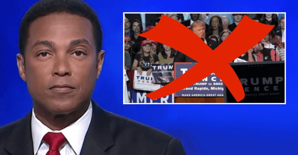 Don Lemon reveals CNN will limit airing Trump 2020 rallies