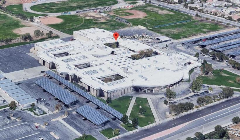 Suspect in custody after reports of shots fired at Palmdale, California school