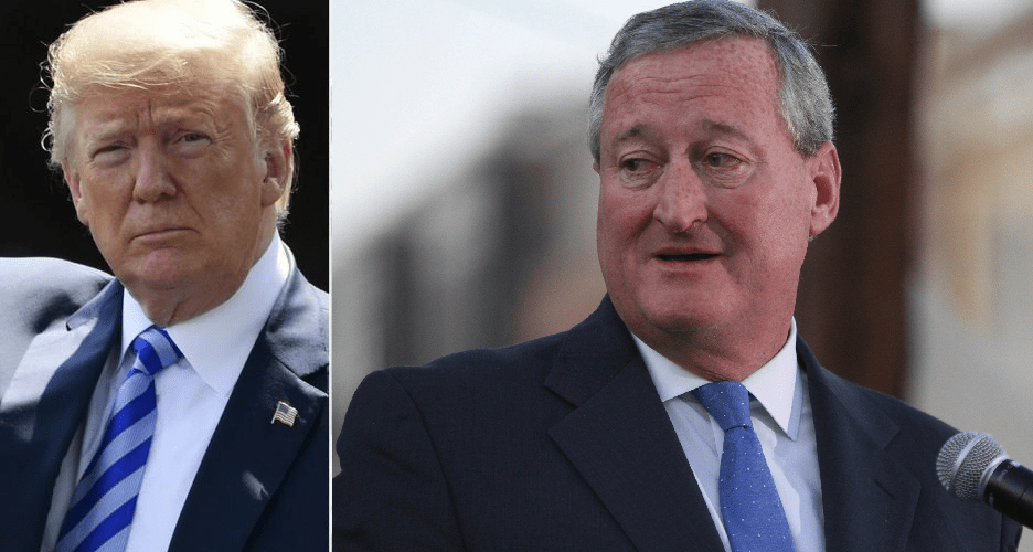 Philly mayor says Trump is not a true patriot