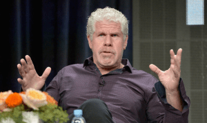 Ron Perlman peed on his own hand instead of reporting a rapist!