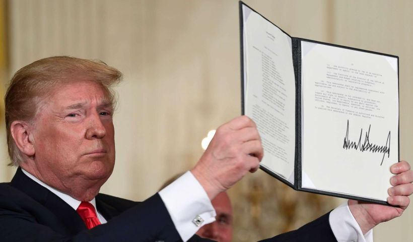 Trump Signs Executive Order To Keep Illegal Immigrant Families Together