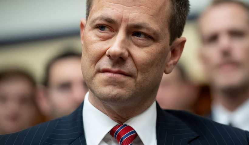 Agent Peter Strzok Fired From The FBI