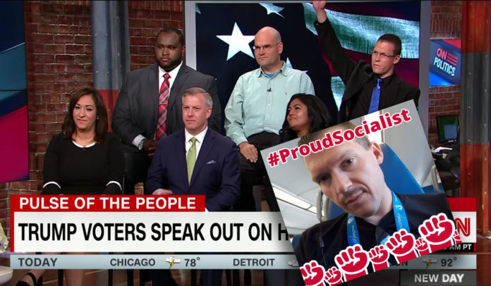 CNN Caught Using an Anti-Trump Socialist Pretending to be a Trump Supporter