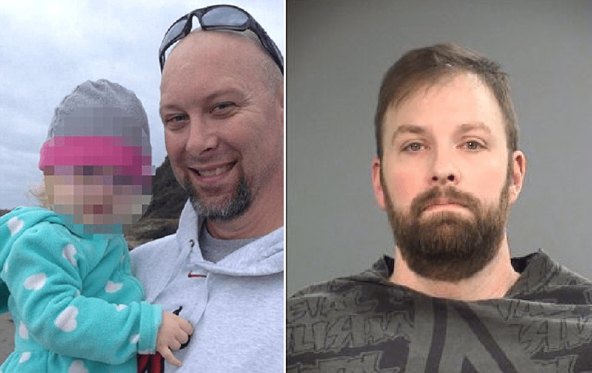 US navy veteran 'lunges' over court barriers to punch pedophile who abused two of his daughters