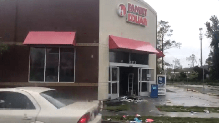 Five looters arrested as Tropical Storm Florence brought chaos to North Carolina