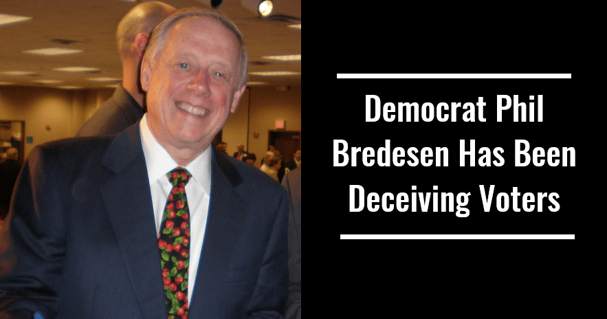 Democrat Phil Bredesen Has Been Deceiving Voters