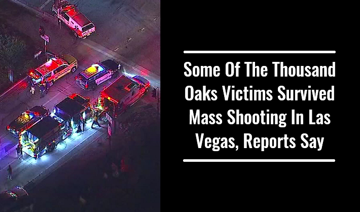 Some Of The Thousand Oaks Victims Survived Mass Shooting In Las Vegas, Reports Say