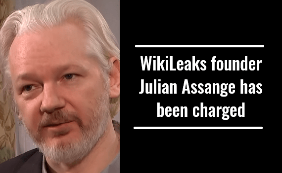 WikiLeaks founder Julian Assange has been charged