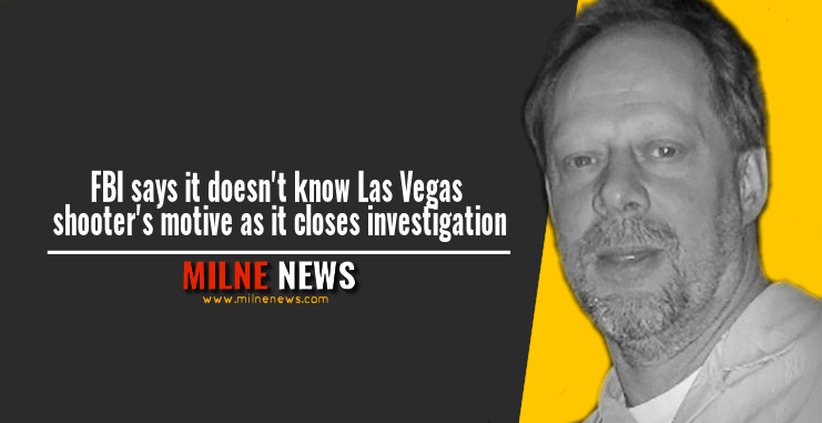 FBI says it doesn't know Las Vegas shooter's motive as it closes investigation