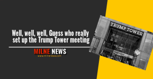 Well, well, well, Guess who really set up the Trump Tower meeting