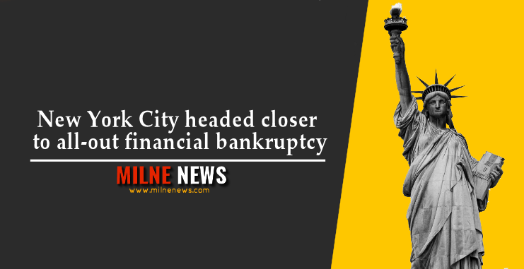 New York City headed closer to all-out financial bankruptcy