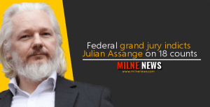 Federal grand jury indicts Julian Assange on 18 counts