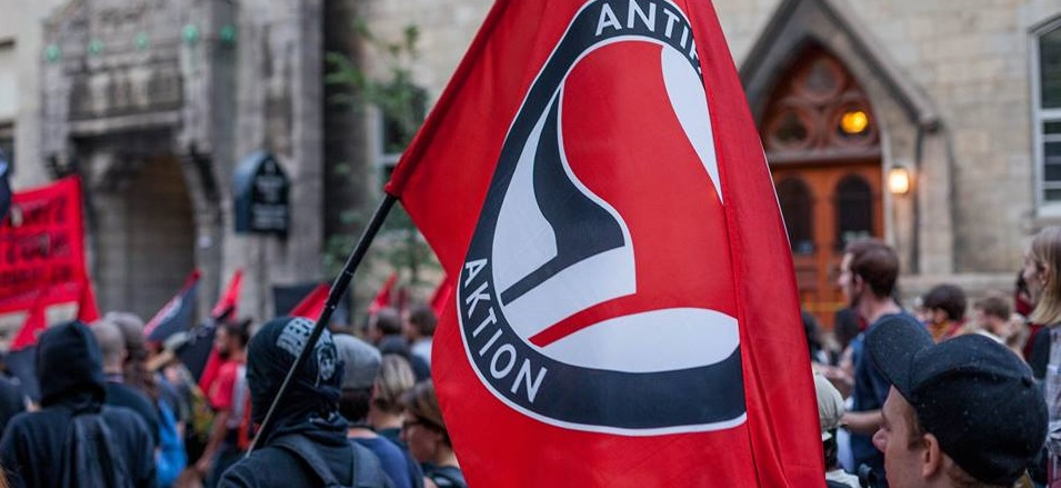 ANTIFA plots acid attack using balloons at upcoming free speech rally