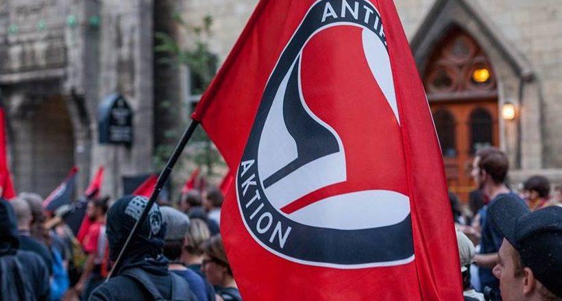 ANTIFA plots acid attack using balloons at upcoming free speech rally