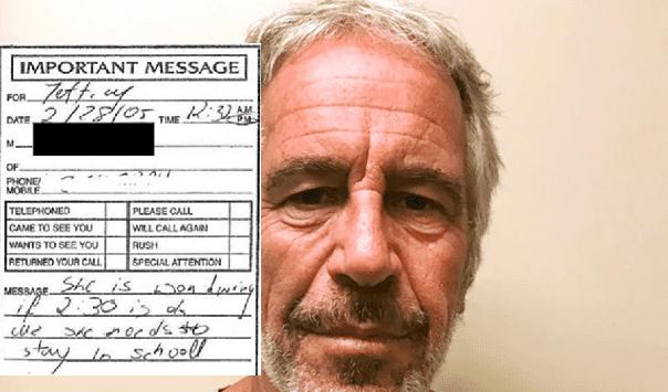 Document dump reveals creepy phone messages left for pedophile Jeffrey Epstein