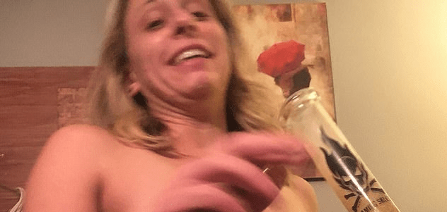 New naked photo reveals Congresswoman Katie Hill showing off Nazi tattoo while smoking a bong