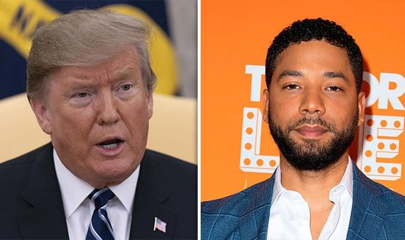 President Trump rips into Jussie Smollett at policing speech in Chicago