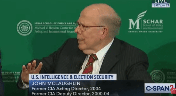 Former Acting CIA Director thanks deep state for prompting impeachment inquiry