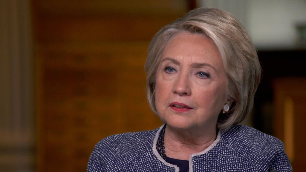 """Hillary Clinton says she is facing """"enormous pressure"""" to run again in 2020"""