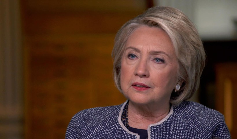 "Hillary Clinton says she is facing ""enormous pressure"" to run again in 2020"