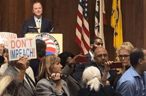 Video: Adam Schiff booed by anti-impeachment protesters