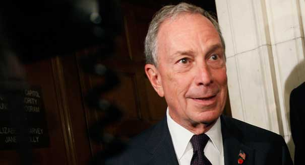 Bloomberg I'm spending all my money to get rid of Trump